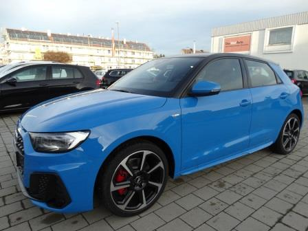 Audi A1 Lageroffensive