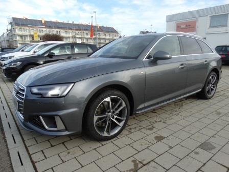 Audi A4 Lageroffensive