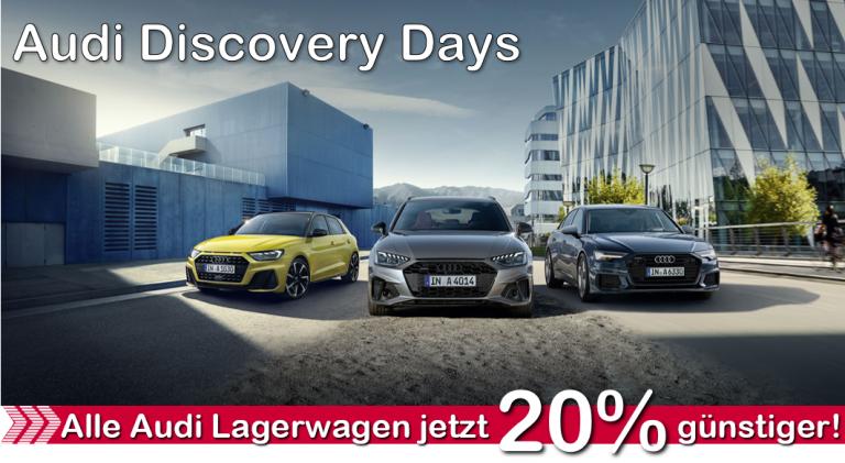 aktuelle angebote Audi Discovery Days Auto König